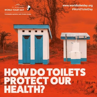 How do toilets protect our health?