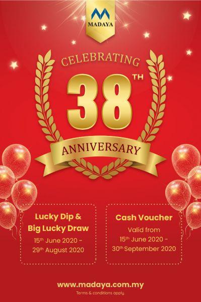 Madaya 38th Anniversary Event
