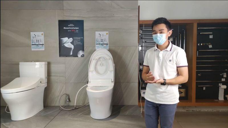 TOTO toilet/ecowasher special promo
