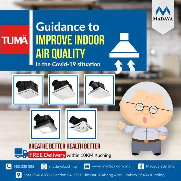 Covid-19 Breaking News: Guidance to Improve Indoor Air Quality