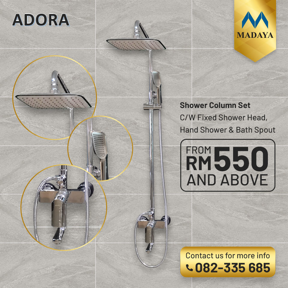 ADORA shower set collection