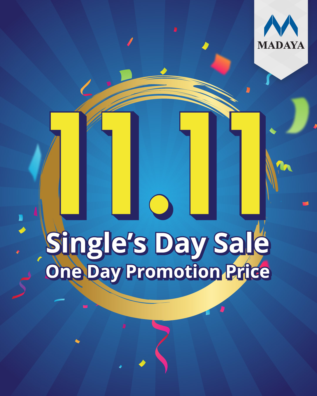 1111 Single's Day Promotion
