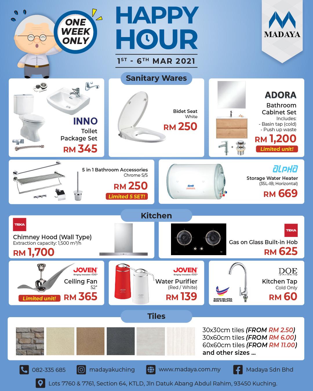 Happy Hour Sale 2021