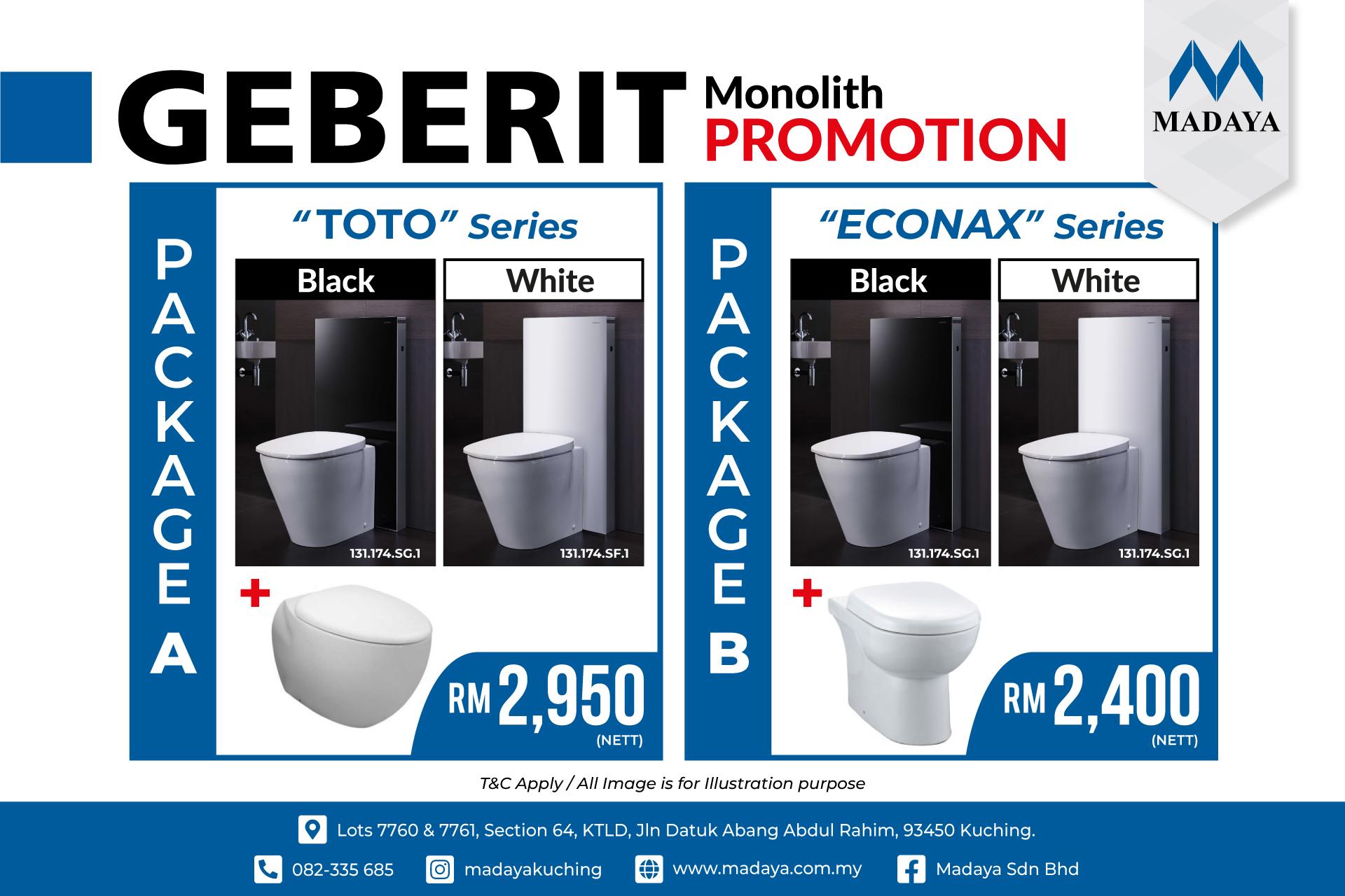 Geberit Monolith Savings Promotion