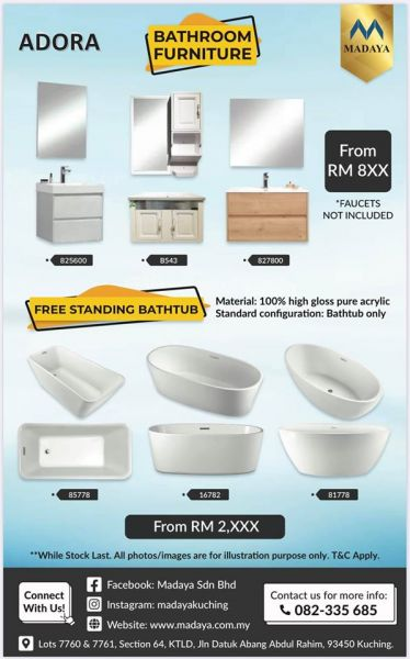 38th Anniversary Event - ADORA bathroom collection