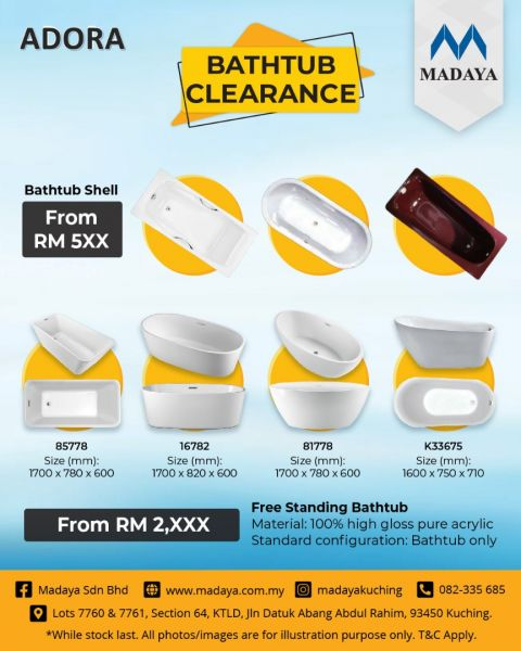 Bath Tub Day- Bathtub Clearance Sales