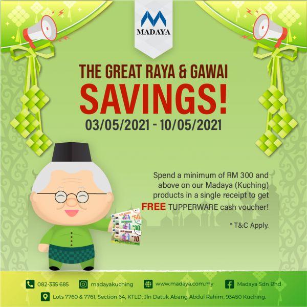 Raya & Gawai Promotion (3/5-10/5)