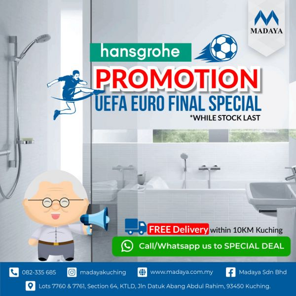 UEFA EURO 2020 Promotion - The Best deals on Hansgrohe Hand Shower